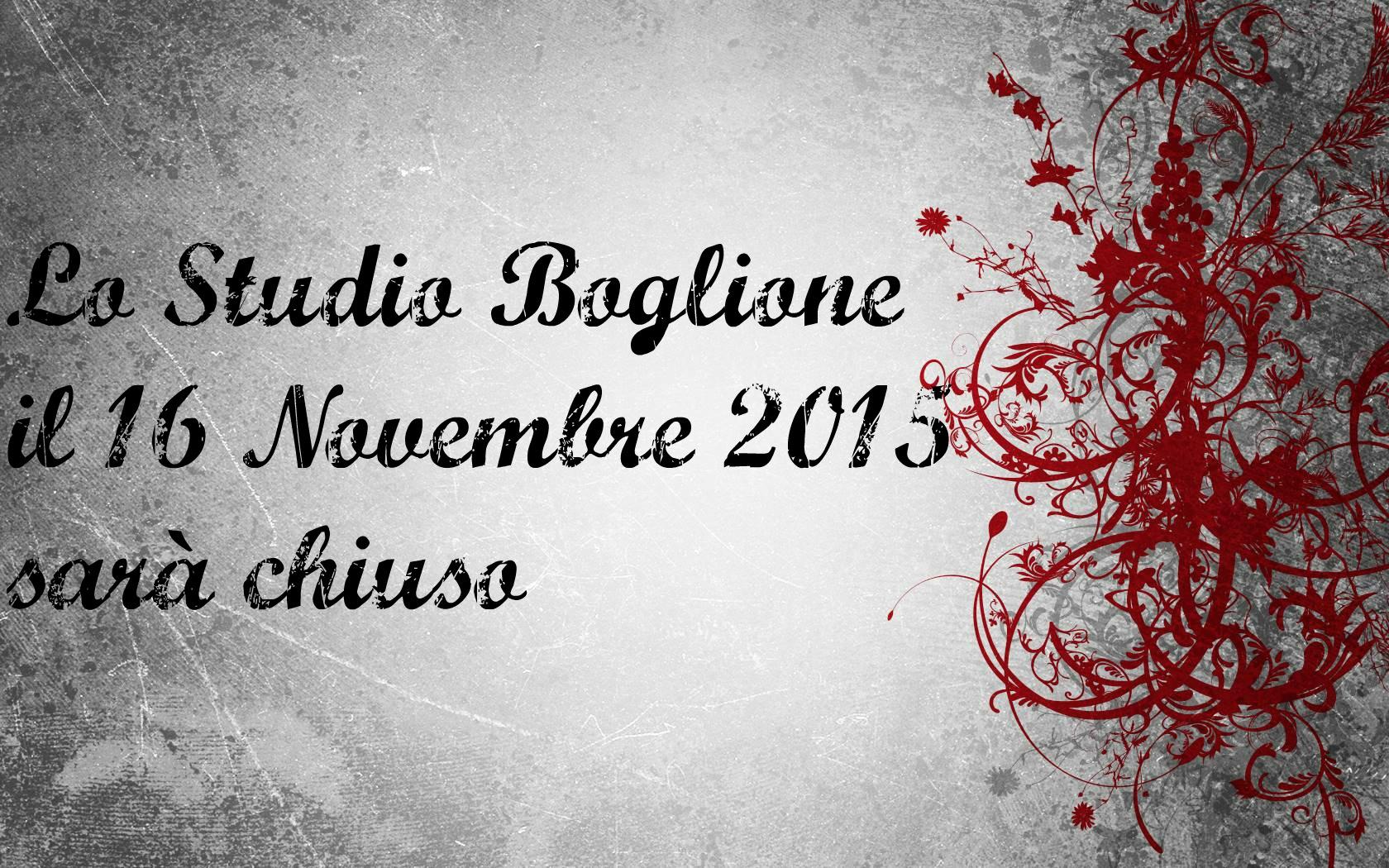 Chiusura Fiera Studio Boglione